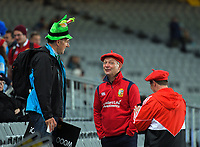 Fans arrive for the 2017 DHL Lions Series rugby union match between the Blues and British & Irish Lions at Eden Park in Auckland, New Zealand on Wednesday, 7 June 2017. Photo: Dave Lintott / lintottphoto.co.nz