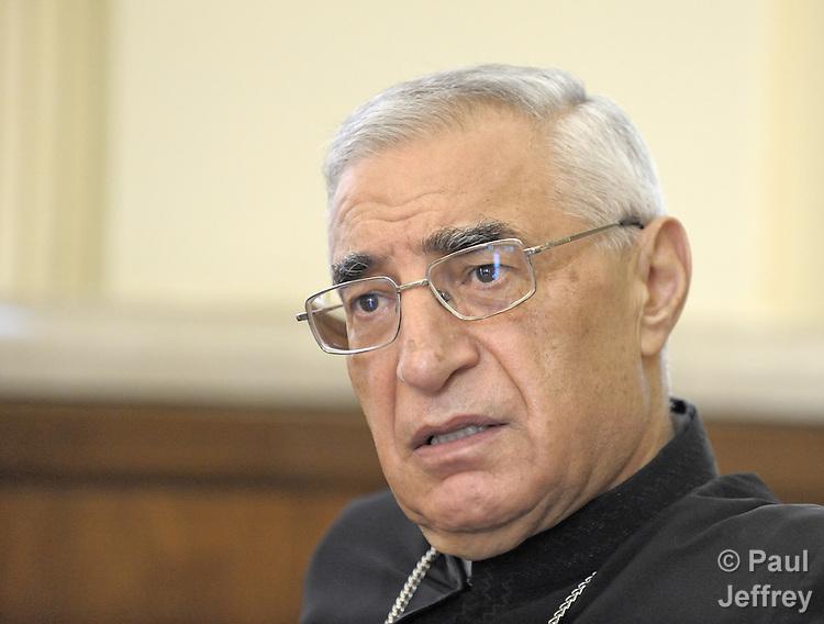 Josef Absi, Patriarchal Vicar in Damascus, Syria, of the Melkite Greek Catholic Church.