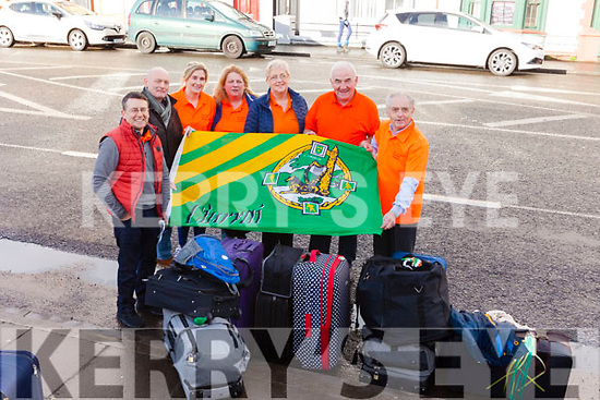 KENYA TRIP: Volunteers from Kerry headed off to Kenya on Monday morning for a two week trip. Pictured were: Mark Greer, Robert O'Mahony, Rachel Flood, Hannah Curtin, Martina O'Mahony, Charlie Farrelly and Willie Reidy.