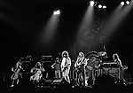FRESNO, California--Some time in 1976, traveled with Bill Barr of Rock'n Chair Production  to see Electric Light Orchestra, Journey and Little Feat in Fresno Memorial Auditorium.  ElO members: Jeff Lynne, Bev Bevan, Richard Tandy, Mik Kaminski, Kelly Groucutt, Hugh McDowell and Melvyn Gale.  1975 - 1978 were big years for ELO.  Journey included Neal Schon on lead guitar, Gregg Rolie on keyboards and lead vocals, bassist Ross Valory and rhythm guitarist George Tickner.  Little Feat's classic line-up: Bill Payne, Richie Hayward, Sam Clayton, Lowell George, Paul Barrere and Kenny Gradney,  Photo by Al Golub/Golub Photography
