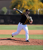 Brandon Komar - San Diego Padres 2020 spring training (Bill Mitchell)