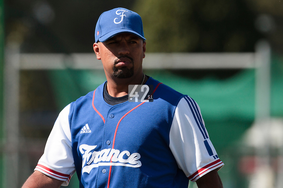 20 August 2010: Keino Perez of Team France is seen during France 6-5 win over Italy, at the 2010 European Championship, under 21, in Brno, Czech Republic.