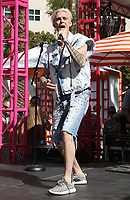 15 April 2017 - Las Vegas, Nevada - Aaron Carter. Aaron Carter performs at Flamingo GO Pool. <br /> CAP/ADM/MJT<br /> &copy; MJT/ADM/Capital Pictures