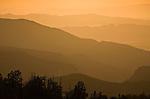 Sunset over Cedar Breaks National Monument, Utah