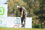 Oscar Floren (SWE) tees off on the 3rd tee during the Final Day Sunday of the Open de Andalucia de Golf at Parador Golf Club Malaga 27th March 2011. (Photo Eoin Clarke/Golffile 2011)