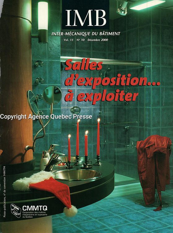 Publication  en couverture d'Inter Mechanique du Batiment <br /> <br /> Photo : Pierre Roussel