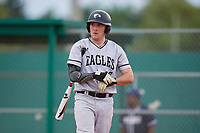 Edgewood Eagles pinch hitter Dane Lamont (17) during the second game of a double header against the Bethel Wildcats on March 15, 2019 at Terry Park in Fort Myers, Florida.  Bethel defeated Edgewood 3-2.  (Mike Janes/Four Seam Images)