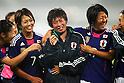 (L to R) Kozue Ando, Megumi Takase, Yuki Nagasato (JPN), September 11, 2011 - Football / Soccer : Women's Asian Football Qualifiers Final Round for London Olympic Match between Japan 1-0 China at Jinan Olympic Sports Center Stadium, Jinan, China. (Photo by Daiju Kitamura/AFLO SPORT) [1045]