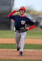 March 22, 2010:  Pitcher Shane Erb of the Washington Nationals organization during Spring Training at the Carl Barger Training Complex in Melbourne, FL.  Photo By Mike Janes/Four Seam Images