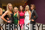 Michelle Costello, Bernadette Costello, Jennifer Carmody, Trish Breen, Aine Ferris at the New Year's Eve Ball at the Fels Point Hotel on Wednesday