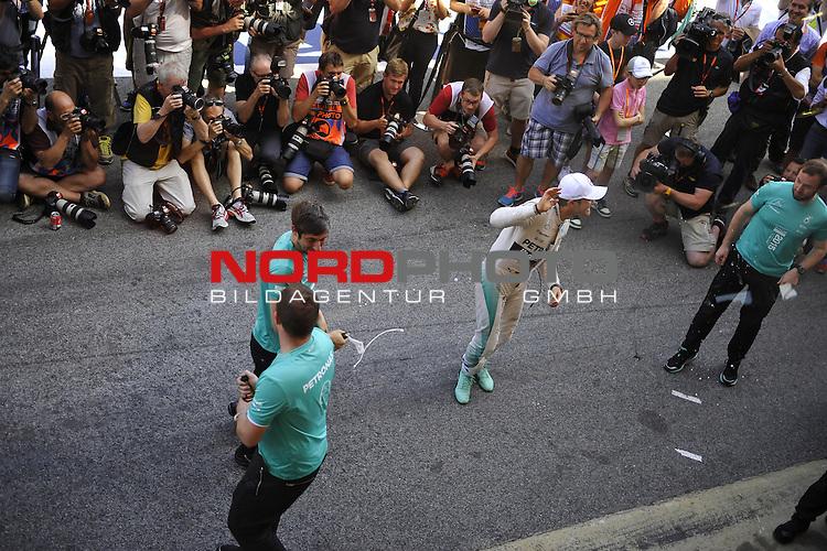 07.05 - 10.05.2015, Circuit de Catalunya, Barcelona, ESP, Formel 1, 2015,  im Bild Nico Rosberg (GER), Mercedes GP<br />  Foto &copy; nph / Mathis