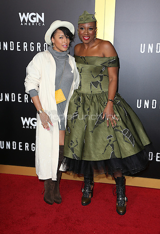WESTWOOD, CA - February 28: Aisha Hinds, Guest, At The Regency Village Theatre In California on February 28, 2017. Credit: Faye Sadou/MediaPunch