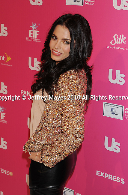 """HOLLYWOOD, CA. - November 18: Jenna Dewan arrives at US Weekly's Hot Hollywood """"Stars Who Care"""" Event at The Colony on November 18, 2010 in Los Angeles, California."""