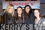 Avril Smith Firies, Ciara O'Sullivan Glenflesk, Mary O'Sullivan Ballydesmond and Maggie O'Connor Killarney enjoying the glamour at the première of Bouncers in Killarney cinema last Thursday night