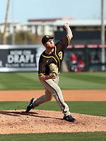 Brady Feigl - San Diego Padres 2020 spring training (Bill Mitchell)