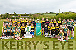The Women's World Cup Trophy arrived to Abbeyfeale Rugby Club last Thursday and was welcomed by members of Abbeyfeale , Listowel &amp; Tralee ladies rugby teams.<br /> The Trophy tour will take in more than a 100 events across 140 days before the World Cup begins next August.