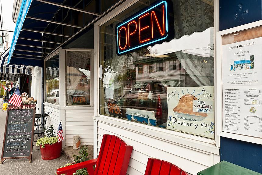 Shops, Southwest Harbor, Maine, ME, USA