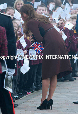 "CATHERINE, DUCHESS OF CAMBRIDGE .visits Havelock Academy in Grimsby, Lincolnshire _05/03/2013.It was a first visit to a programme run by the Prince's Trust by the Duchess who is 5 months pregnant..Mandatory credit photo:©Dias/NEWSPIX INTERNATIONAL..**ALL FEES PAYABLE TO: ""NEWSPIX INTERNATIONAL""**..PHOTO CREDIT MANDATORY!!: NEWSPIX INTERNATIONAL(Failure to credit will incur a surcharge of 100% of reproduction fees)..IMMEDIATE CONFIRMATION OF USAGE REQUIRED:.Newspix International, 31 Chinnery Hill, Bishop's Stortford, ENGLAND CM23 3PS.Tel:+441279 324672  ; Fax: +441279656877.Mobile:  0777568 1153.e-mail: info@newspixinternational.co.uk"