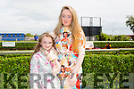 Molly Sheehy and Aoife Sheehy from Tralee.  at the Kerry International Horse Racing at Ballybeggan Race Track on Sunday dedicated to the memory of John Browne