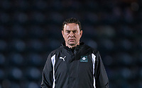 Plymouth Argyle Manager Derek Adams ahead of the Sky Bet League 2 match between Wycombe Wanderers and Plymouth Argyle at Adams Park, High Wycombe, England on 14 March 2017. Photo by Andy Rowland / PRiME Media Images.