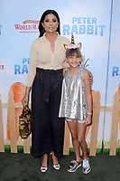 LOS ANGELES, CA - FEBRUARY 03: Rachel Roy at the premiere of Columbia Pictures' 'Peter Rabbit' at The Grove on February 3, 2018 in Los Angeles, California. <br /> CAP/MPI/DE<br /> &copy;DE//MPI/Capital Pictures