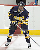 Mike Alexiou -Boston College defeated Merrimack College 3-0 with Tim Filangieri's first two collegiate goals on November 26, 2005 at Kelley Rink/Conte Forum in Chestnut Hill, MA.