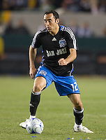 Ramiro Corrales,.San Jose Earthquakes vs Los Angeles Galaxy, April 4, 2008, in Carson California. The Galaxy won 2-0.
