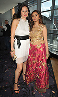Johanna Pollet and Bhella Candenti at the &quot;Crossing Over&quot; UK film premiere, Cineworld West India Quay, Hertsmere Road, London, England, UK, on Sunday 06 August 2017.<br /> CAP/CAN<br /> &copy;CAN/Capital Pictures