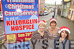 CAROLS: Preparing for the upcoming carol service on December 20th for the Killorglin Hospice Branch, l-r: Josephine Foley, Kay Woods, Colette Boyle.