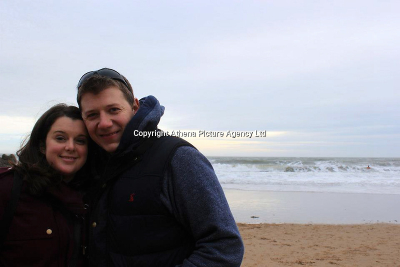 COPY BY TOM BEDFORD<br /> Pictured: Keziah Maizey with husband Ben<br /> Re: A GP has highlighted the crisis facing Wales' accident and emergency departments after she waited 15 hours without getting access to a bed or trolley.<br /> Keziah Maizey, 37, went to the accident and emergency unit at the University Hospital Wales , Cardiff, on Tuesday evening after half her face became paralysed and she felt a weakness in an arm and a leg.