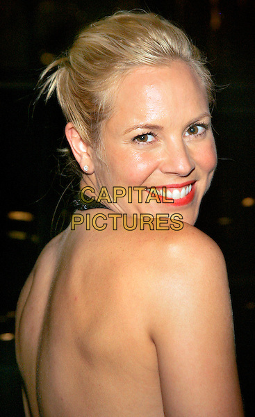 "MARIA BELLO.Arrives at the afterparty for the NY Premiere of ""World Trade Center"" at the Lever House Restaurant, New York, NY, USA..August 3rd, 2006.Ref: ADM/JL.headshot portrait looking over shoulder.www.capitalpictures.com.sales@capitalpictures.com.©Jackson Lee/AdMedia/Capital Pictures."
