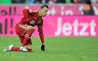 FUSSBALL   1. BUNDESLIGA  SAISON 2011/2012   21. Spieltag FC Bayern Muenchen - 1. FC Kaiserslautern       11.02.2012 Ivica Olic (FC Bayern Muenchen)