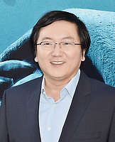 HOLLYWOOD, CA - AUGUST 06: Masi Oka attends the premiere of Warner Bros. Pictures and Gravity Pictures' Premiere of 'The Meg' at the TLC Chinese Theatre on August 06, 2018 in Hollywood, California.<br /> CAP/ROT/TM<br /> &copy;TM/ROT/Capital Pictures