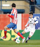 Getafe's Pedro Leon during King's Cup match. December 12, 2012. (ALTERPHOTOS/Alvaro Hernandez) /NortePhoto