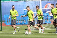 06.07.2016: Abschlusstraining Deutschland in Evian