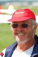 Gert Kalisch: DEUTSCHLAND, 28.07.2009 Sportleiter Gert Kalisch im Heidepokal 2009.  Deutschland,  Segelflug, Segelfliegen, Sport, Sportart, Luftsport, Luftsportgeraet,