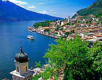 Italy, Lombardy, Lake Garda, Limone