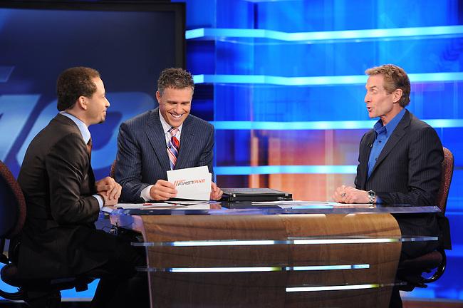 August  10, 2011 - Bristol, CT - Studio E:  First Take..Credit: Joe Faraoni/ESPN