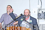 Danny Healy Rae at the count in Killarney Sunday evening