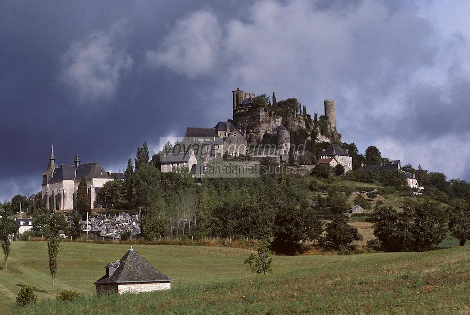 Europe/France/Limousin/19/Corrèze/Turenne: Vue générale