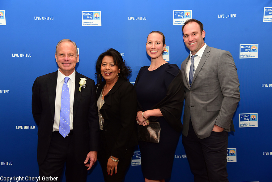 Roger Ogden was honored with the 2019 Tocqueville Award by United Way.