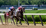 June 8, 2019 : #2, Midnight Bisou, ridden by jockey Mike Smite, wins the Ogden Phipps Stakes on Belmont Stakes Festival Saturday at Belmont Park in Elmont, New York. Kaz Ishida/Eclipse Sportswire/CSM