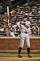 Ichiro Suzuki (Marlins),<br /> SEPTEMBER 14, 2015 - MLB :<br /> Ichiro Suzuki of the Miami Marlins at bat during the Major League Baseball game against the New York Mets at Citi Field in Flushing, New York, United States. (Photo by Hiroaki Yamaguchi/AFLO)