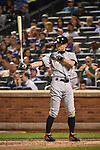 Ichiro Suzuki (Marlins),<br /> SEPTEMBER 14, 2015 - MLB :<br /> Ichiro Suzuki of the Miami Marlins at bat during the Major League Baseball game against the New York Mets at Citi Field in Flushing, New York, United States. (Photo by Hiroaki Yamaguchi/AFLO)