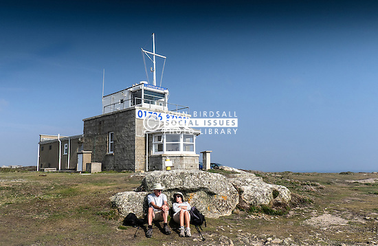 The Gwennap Head Coastal Watch Station in Cornwall.