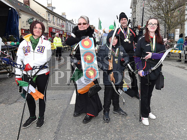 St. Patrick's Day parade 2018 in Ardee. Photo:Colin Bell/pressphotos.ie