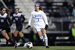 DURHAM, NC - NOVEMBER 17: Duke's Taylor Racioppi. The Duke University Blue Devils hosted the Oklahoma State University Cowboys on November 17, 2017 at Koskinen Stadium in Durham, NC in an NCAA Division I Women's Soccer Tournament Second Round game. Duke won the game 7-0.