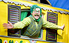 The Wind in the Willows<br /> by Kenneth Grahame adapted by Julian Fellowes with George Stiles and Anthony Drewe <br /> at London Palladium <br /> London, Great Britain <br /> Press photocall <br /> 22nd June 2017 <br /> <br /> Rufus Hound as Mr Toad <br /> <br /> <br /> Photograph by Elliott Franks <br /> Image licensed to Elliott Franks Photography Services