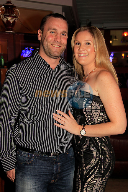 Ciara O'Hare and Kevin Walace engagement<br /> Picture: Fran Caffrey www.newsfile.ie