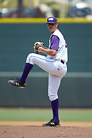 Winston-Salem Dash starting pitcher Blake Battenfield (32) in action against the Buies Creek Astros at BB&T Ballpark on July 15, 2018 in Winston-Salem, North Carolina. The Dash defeated the Astros 6-4. (Brian Westerholt/Four Seam Images)